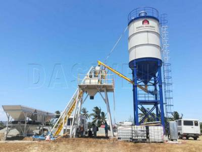 Skip Hopper Stationary Concrete Batching Plant