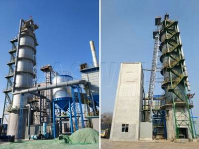Vertical Kiln Production Line