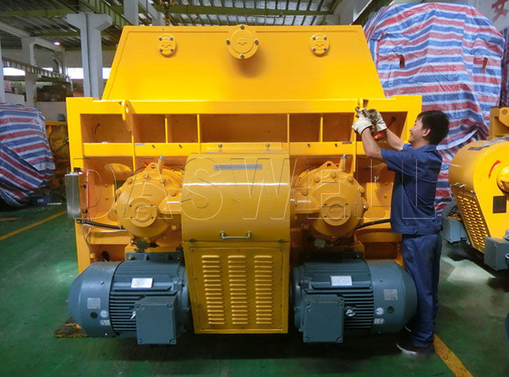 MAO4500/3000 twin shaft mixer